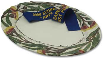 Originally Nic of Sydney, Easter Show Winning Platter 2009 for Ceramic Art